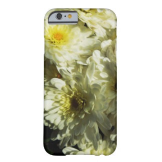 Fall-Themenorientierter Fall - weiße Chrysanthemen