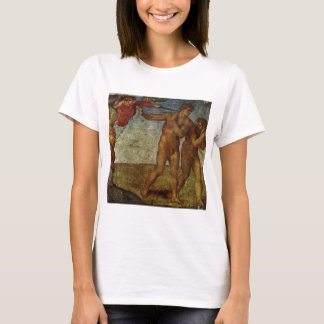 Fall vom Garten Eden durch Michelangelo T-Shirt