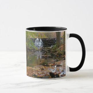 Fall-Wasserfall-und Tasse