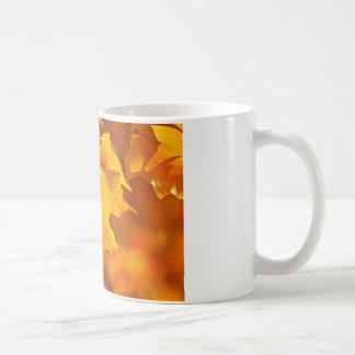 Fallahorn-Blätter Kaffeetasse