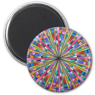 Fallen innerhalb des runden Magneten Runder Magnet 5,7 Cm