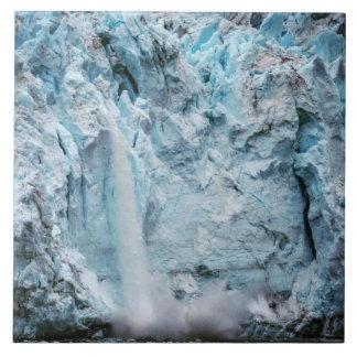 Fallende Eis-Foto-Fliese Keramikfliese