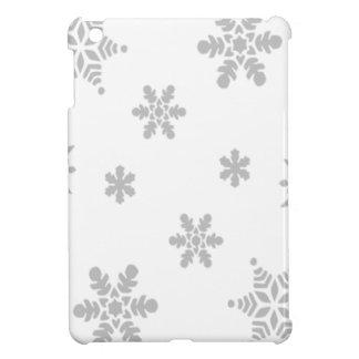 Fallende Schneeflocken iPad Mini Schale