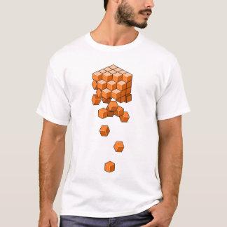 Fallende Würfel T-Shirt