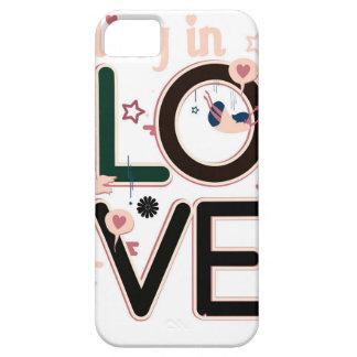 FALLING IN LOVE iPhone 5 ETUI