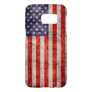Falln antike amerikanische Flagge