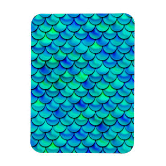 Falln Aqua-Blau-Skalen Magnet