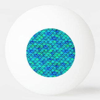 Falln Aqua-Blau-Skalen Tischtennis Ball