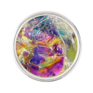 Falln Aura-Kristall Anstecknadel