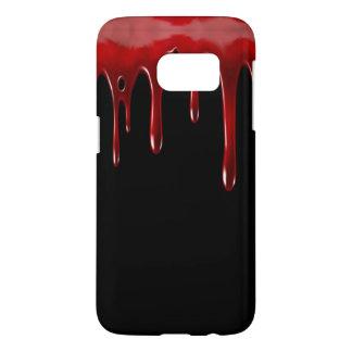 Falln Blut-Tropfen-Schwarzes