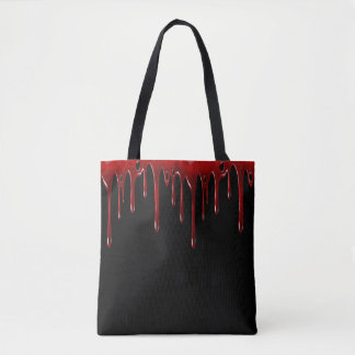Falln Blut-Tropfen-Schwarzes Tasche