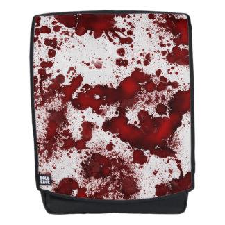 Falln Blutflecken Rucksack