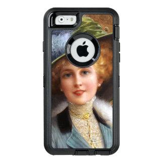 Falln Buchstaben und Tee OtterBox iPhone 6/6s Hülle