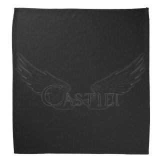 Falln Castiel mit Flügel-Schwarzem Halstuch