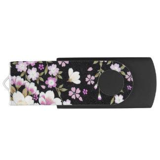 Falln, das rosa Blumen kaskadiert USB Stick