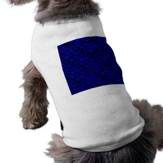 Falln dunkelblaue Meerjungfrau-Skalen Shirt