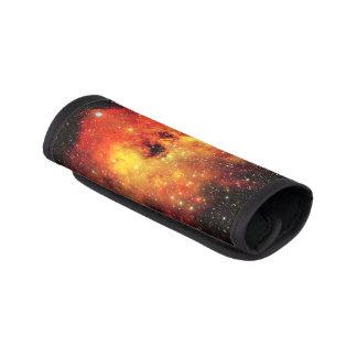 Falln Galaxie auf Feuer Gepräckgriffwickel