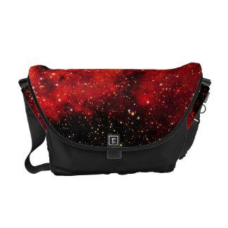 Falln Galaxie auf Feuer Kuriertaschen
