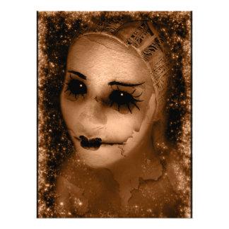 Falln gebrochenes Pierrot Photodrucke