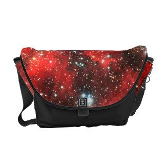 Falln Gold abgewischte Galaxie Kurier Tasche