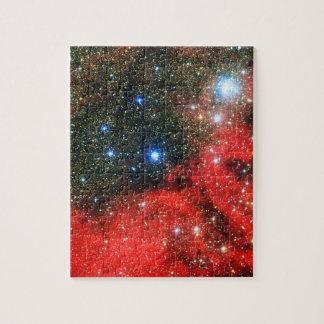 Falln Gold abgewischte Galaxie Puzzle