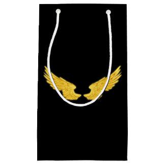 Falln goldene Engels-Flügel Kleine Geschenktüte