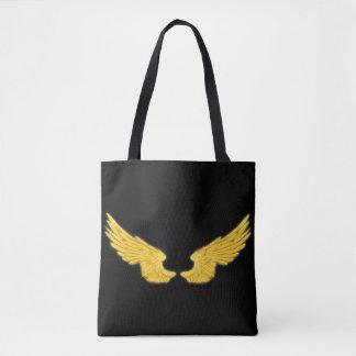 Falln goldene Engels-Flügel Tasche
