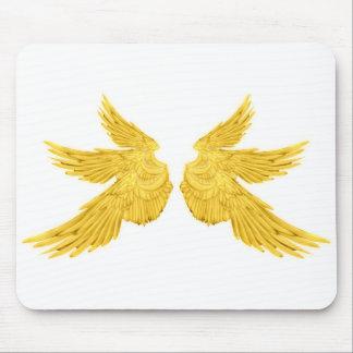 Falln Golderzengel-Flügel Mousepad