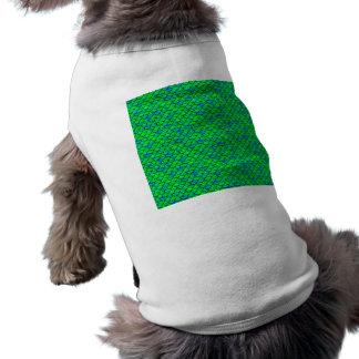 Falln grün-blaue Skalen Shirt