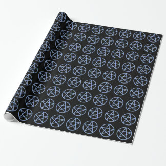 Falln Heide-Pentagramm Geschenkpapier