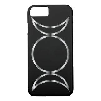 Falln heidnisches dreifaches Göttin-Symbol iPhone 8/7 Hülle