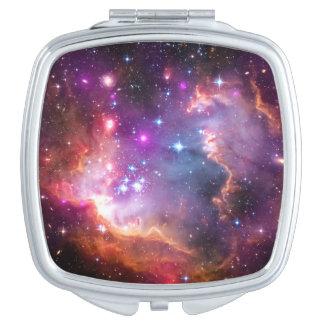 Falln himmlische Galaxie Taschenspiegel