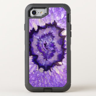 Falln lila Achat Geode OtterBox Defender iPhone 8/7 Hülle