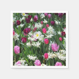Falln romantischer Frühlings-Morgen Papierserviette