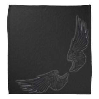 Falln schwarze Engels-Flügel Kopftuch