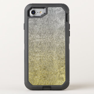 Falln Silber-u. GoldGlitter-Steigung OtterBox Defender iPhone 8/7 Hülle