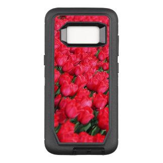 Falln Teppich der hochroten Tulpen OtterBox Defender Samsung Galaxy S8 Hülle