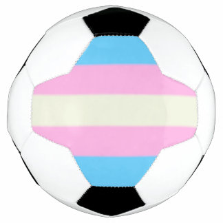 Falln Transgender-Stolz-Flagge Fußball