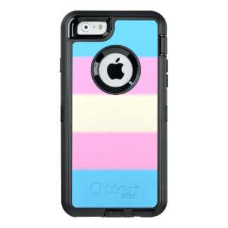 Falln Transgender-Stolz-Flagge OtterBox iPhone 6/6s Hülle