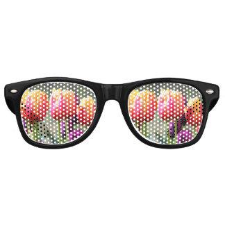 Falln Tulpen brennend Sonnenbrille