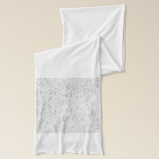 Falln Weiß-Spitze Schal