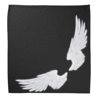 Falln weiße Engels-Flügel Halstuch
