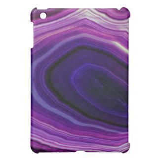 Falln wirbelte lila Geode iPad Mini Hülle