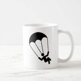 Fallschirmspringen Kaffeetasse