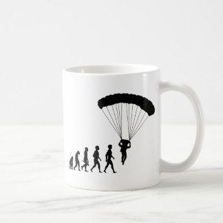 Fallschirmspringen Skydiver Skydiver Flugzeug Kaffeetasse