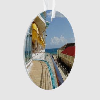 Falmouth Jamaika datiert Ornament