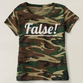Falsch! Die Tarnungs-T - Shirt-Klassikerfarbe der T-shirt