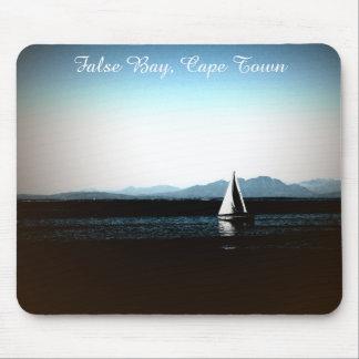 Falsche Bucht, Cape Town-Segelboot Mousepads