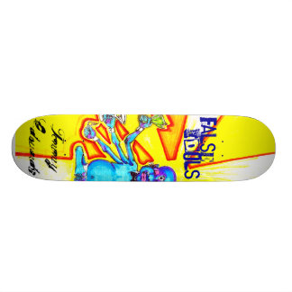 Falsche Idole Tommys Edwards Individuelle Skateboards