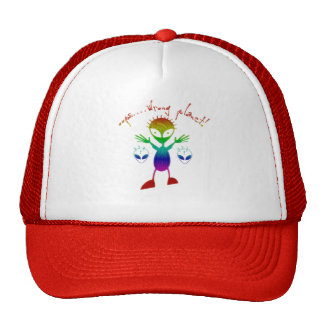 Falsche Planeten-alien-Hüte Baseball Kappe